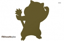 Cartoon Patrat Silhouette
