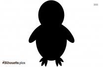 Penguin Silhouette Art