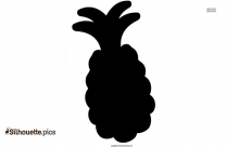 Cartoon Watermelon Silhouette Vector Illustratio