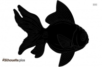 Cartoon Piranha Silhouette