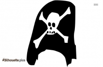 Black And White Pirate Clip Art Silhouette