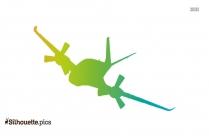 Plane Silhouette Icon
