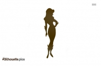 Cartoon Poison Ivy Silhouette Png