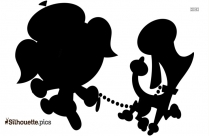 Augie Doggie Silhouette Free Vector Art