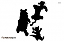 Tigger And Pooh Silhouette Clip Art