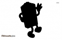 Cartoon Doberman Cliparts Silhouette