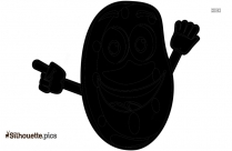 Sweet Potato Silhouette Free Vector Art