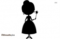 Pretty Queen Silhouette For Download
