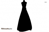 Wedding Dress Silhouette Image