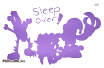 Cartoon Pug Factory Clipart || Spikle Sleep Over Mixels Disney Characters Silhouette
