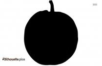Pumpkin Black And White Silhouette Image