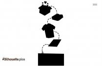 Cartoon Quilting Vector Silhouette