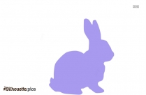 Easter Bunny Silhouette Graphics