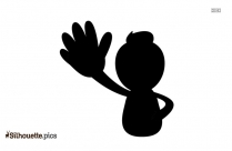 Punch Silhouette Clip Art, Fist Vector