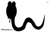 Snake Silhouette Vector Art