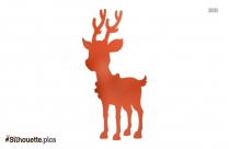 Reindeer Christmas Clipart Silhouette