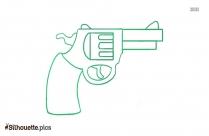 Potato Digger Gun Silhouette Clip Art