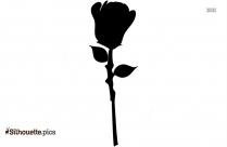 Lantanas Flower Silhouette