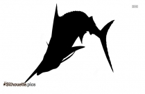 Black And White Stingray Silhouette