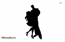 Dancing Silhouette, Dance Pose Clip Art