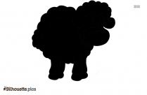 Cartoon Sheep For Personal Use Silhouette