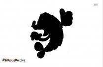 Clipart Image Shrimp Silhouette