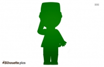 Black And White Toy Soldier Silhouette