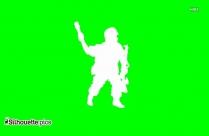 Cartoon Soldier Silhouette Download