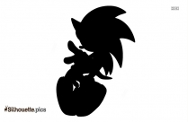 Sonic The Hedgehog Illustration Silhouette
