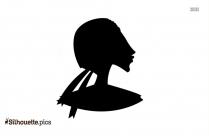 Heron Head ClipArt Silhouette