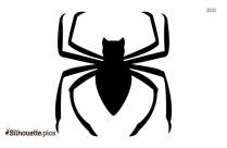 Cartoon Spider Emoji Silhouette