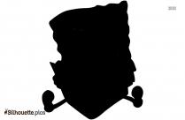 Cartoon Spongebob Squarepants Silhouette Clipart