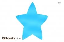 Cartoon Star Silhouette