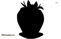Pear Silhouette Illustration