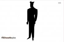 Mulan Cartoon Character Silhouette