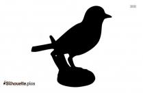 Bluebird Silhouette Icon