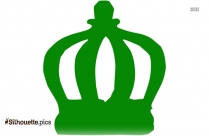 Cartoon Tiara Silhouette