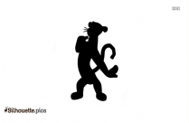 Cartoon Tigger Silhouette Vector And Graphics
