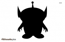Toy Top Silhouette Clip Art