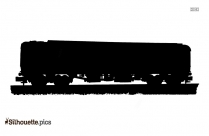 Cartoon Train Silhouette Picture