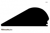 Cartoon Train Silhouette Free Vector Art