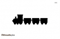 Black Thomas The Train Toys Silhouette Image