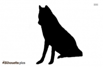 Raccoon Dog Silhouette Illustration