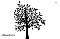 Pine Tree Clipart Silhouette