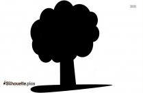 Green Tree Clip Art Silhouette