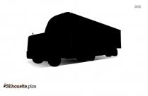 Cartoon Truck Symbol Silhouette