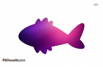 Cartoon Tuna Silhouette For Download