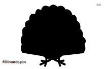 Silhouette Of Thanksgiving Bird