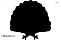 Cartoon Turkey Bird Silhouette Image