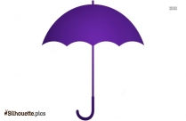 Cartoon Umbrella Art Silhouette